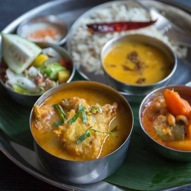 Thali Cafe Bristol Menu