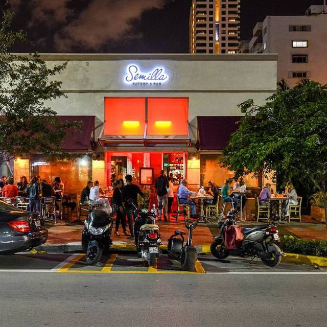 Semilla - Semilla Eatery and Bar, Miami, FL