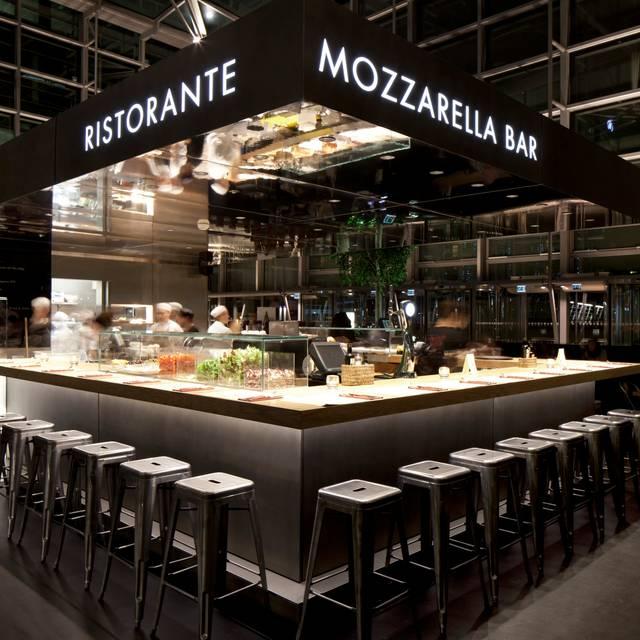 Bar - Obicà Mozzarella Bar - Canary Wharf, London