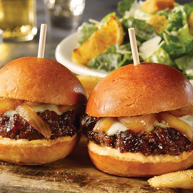 Lunch Pairing – Whiskey-Glazed Sliders and Caesar Salad - TGI FRIDAYS - Willow Grove, Willow Grove, PA