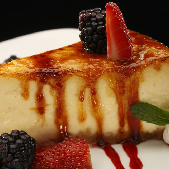 Crème Brulee Cheesecake - Firebirds Wood Fired Grill - Phoenix, Peoria, AZ