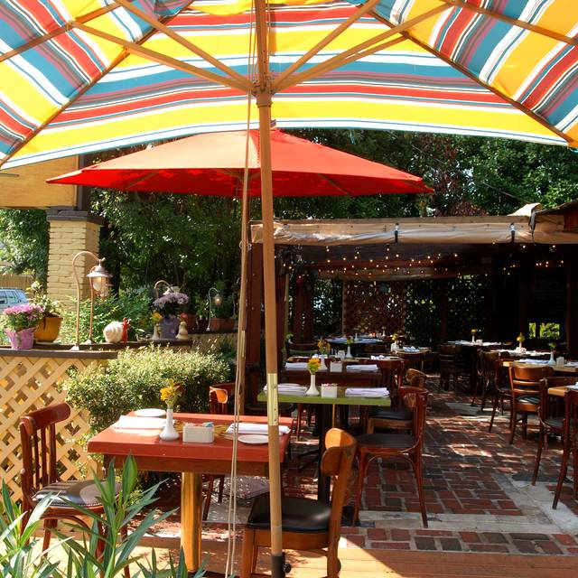 Patio - Anis Cafe and Bistro, Atlanta, GA