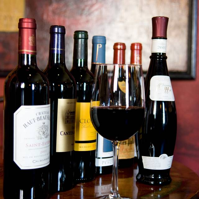 Wine - Tapas and a glass of wine - Anis Cafe and Bistro, Atlanta, GA