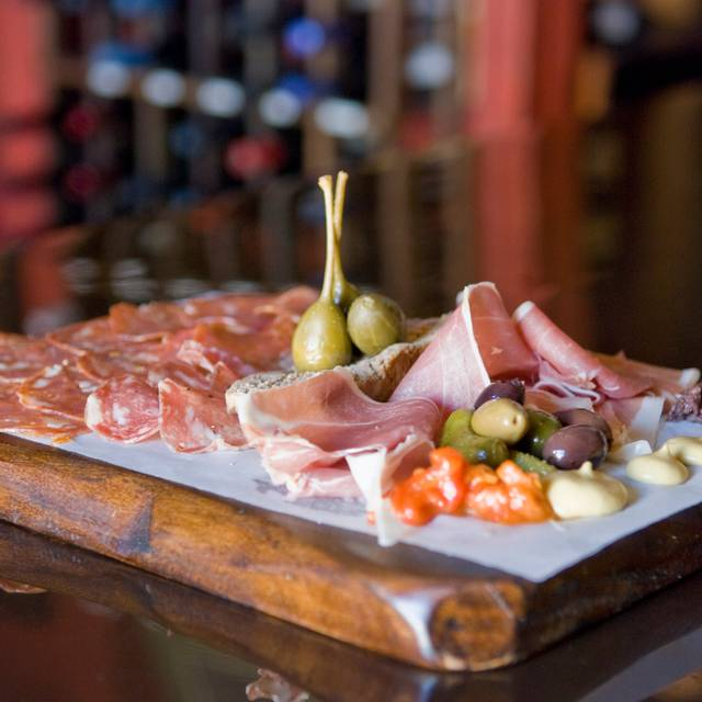 Charcuterie  - Tapas and a glass of wine - Anis Cafe and Bistro, Atlanta, GA