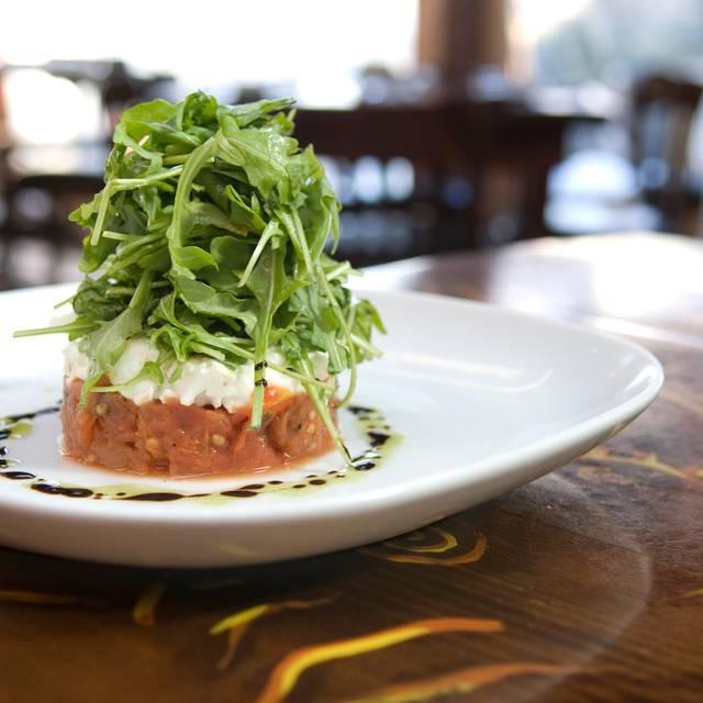 Tomato Tartare - Tapas and a glass of wine - Anis Cafe and Bistro, Atlanta, GA