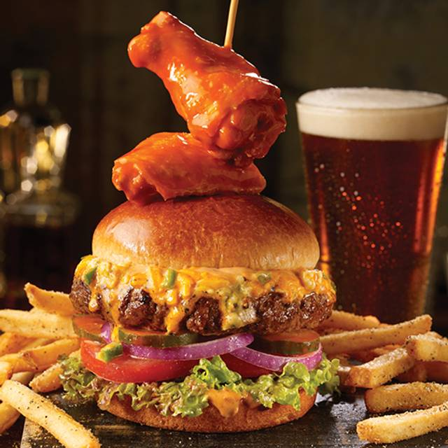 Buffalo Wingman's Burger - TGI FRIDAYS - Leesburg, Leesburg, VA