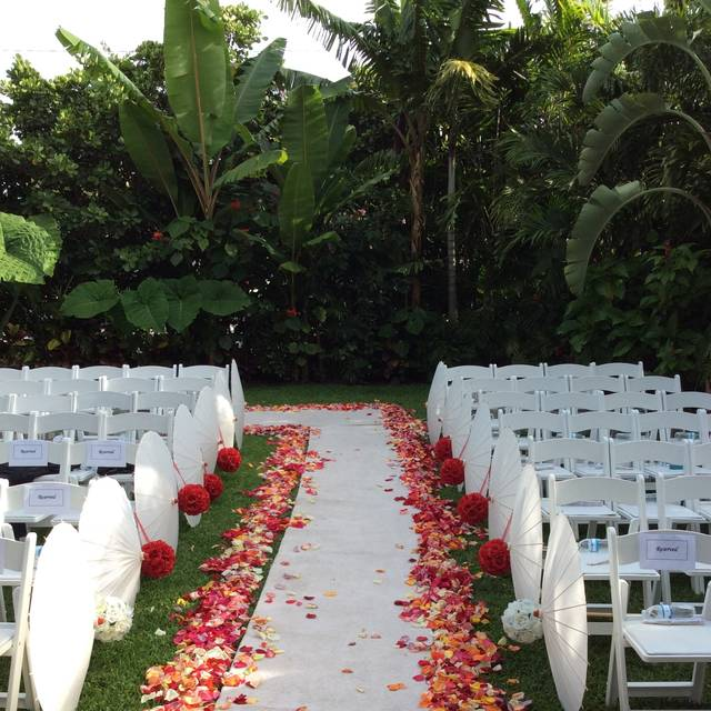 Florida Beach House Weddings: Sundy House Restaurant - Delray Beach, FL