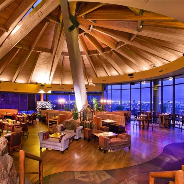 Top of the Rock Restaurant at the Marriott Buttes Resort, Tempe, AZ