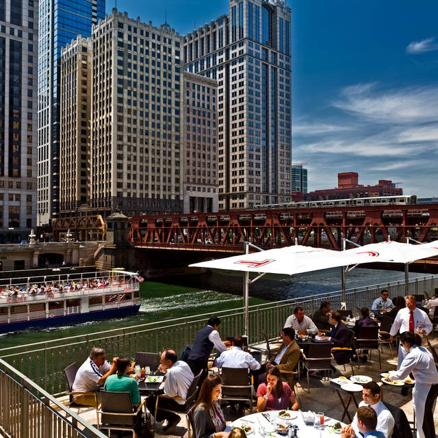 Chicago Cut Patio Daytime - Chicago Cut Steakhouse, Chicago, IL