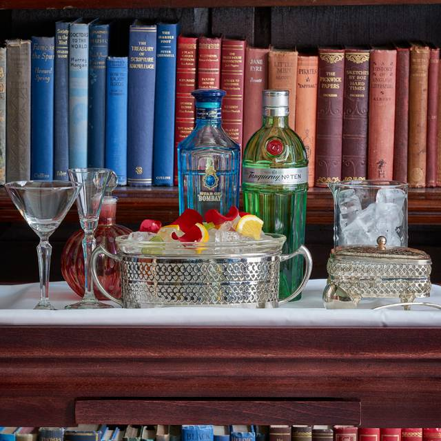 The Cinnamon Club - Gin Trolley - The Cinnamon Club, London