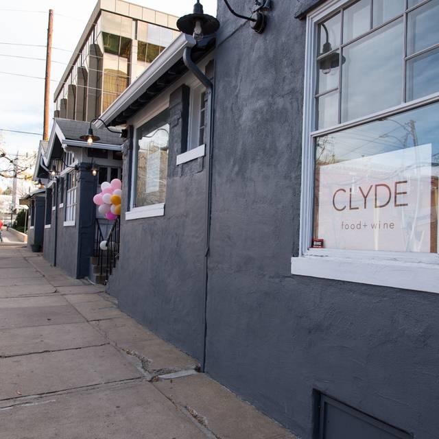 Sign - Clyde, Denver, CO