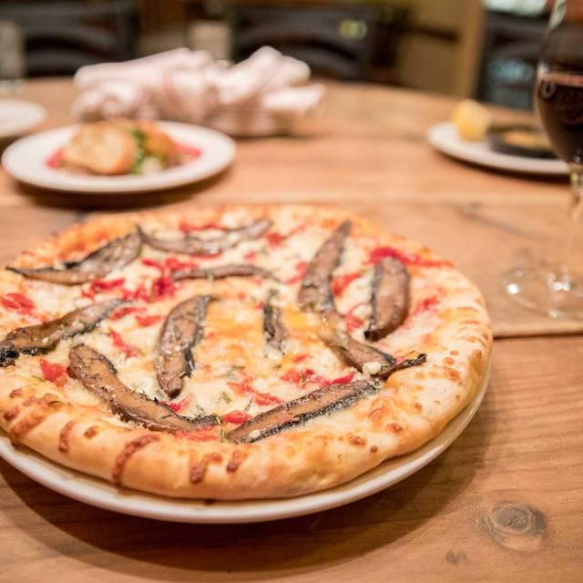 Pizza Mushroom And Sundried Tomato - Farro Italian Restaurant, Centennial, CO