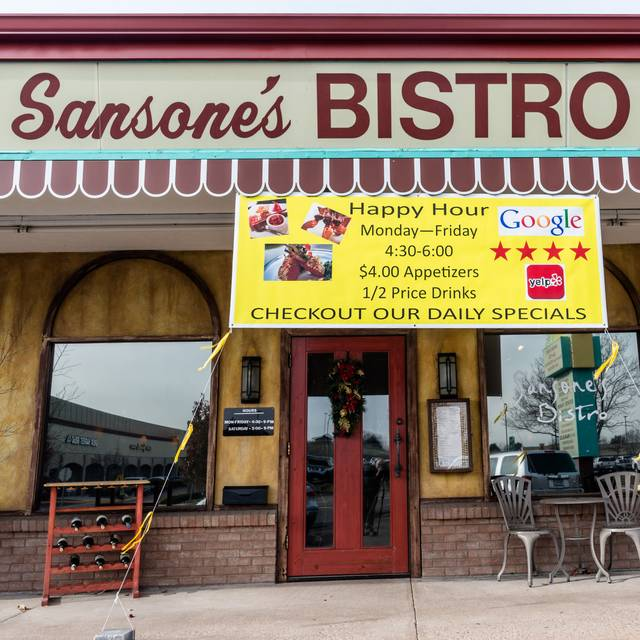 Sign - Sansone's Bistro, Greenwood Village, CO