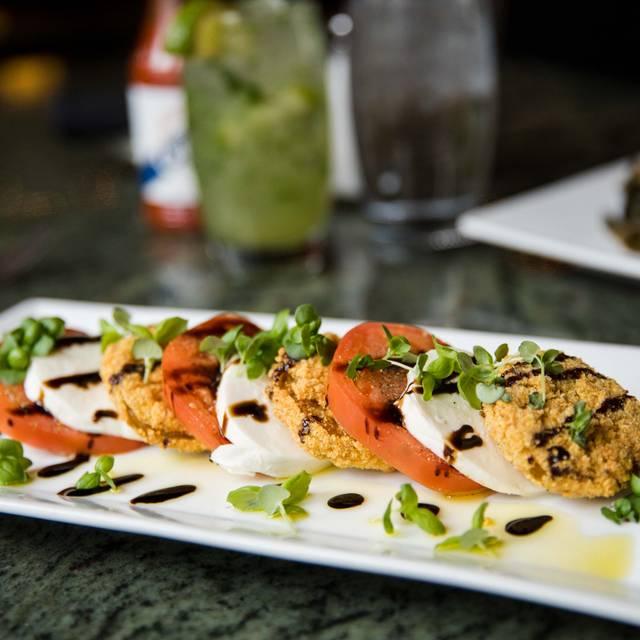 Fried Green Tomato Caprese - Restaurant Fourteen Seventy Two, Denver, CO