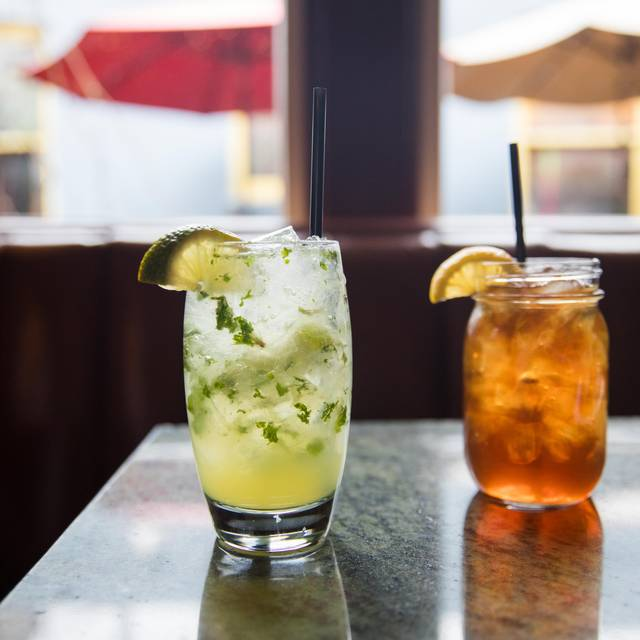 Mojito And Sweet Tea Beverages - Restaurant Fourteen Seventy Two, Denver, CO