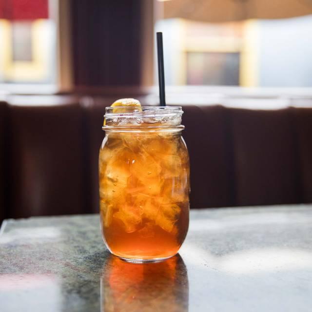 Sweet Tea Beverage - Restaurant Fourteen Seventy Two, Denver, CO