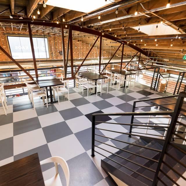 Dining Room Upstairs - Mas Kaos, Denver, CO
