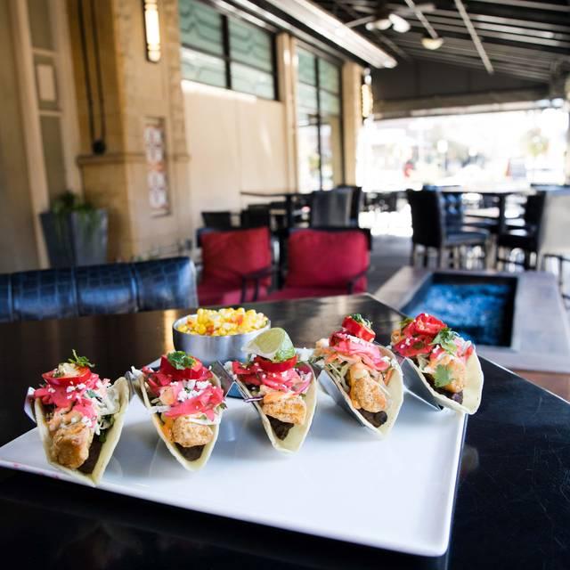 Crispy Mahi Mahi Street Tacos - Hodson's Bar and Grill - Southglenn, Centennial, CO
