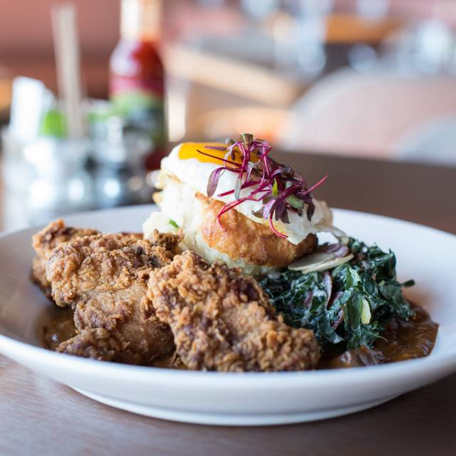 Fried Chicken And Goat Cheese - Root Down, Denver, CO