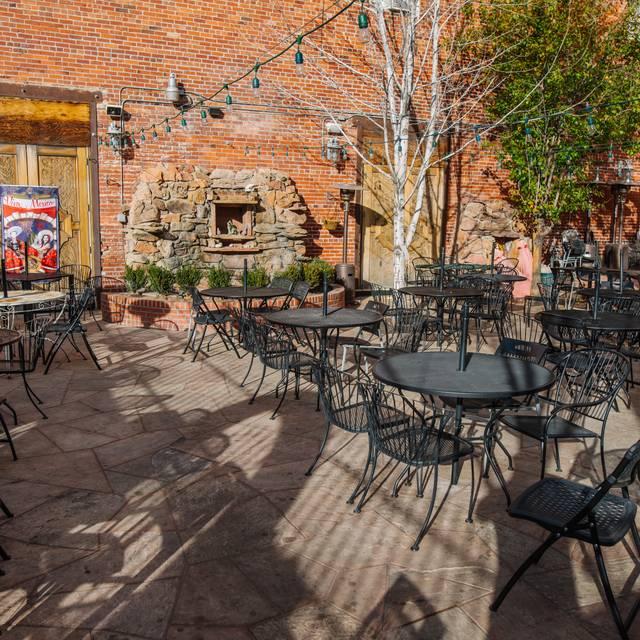 Patio - El Noa Noa Restaurant, Denver, CO