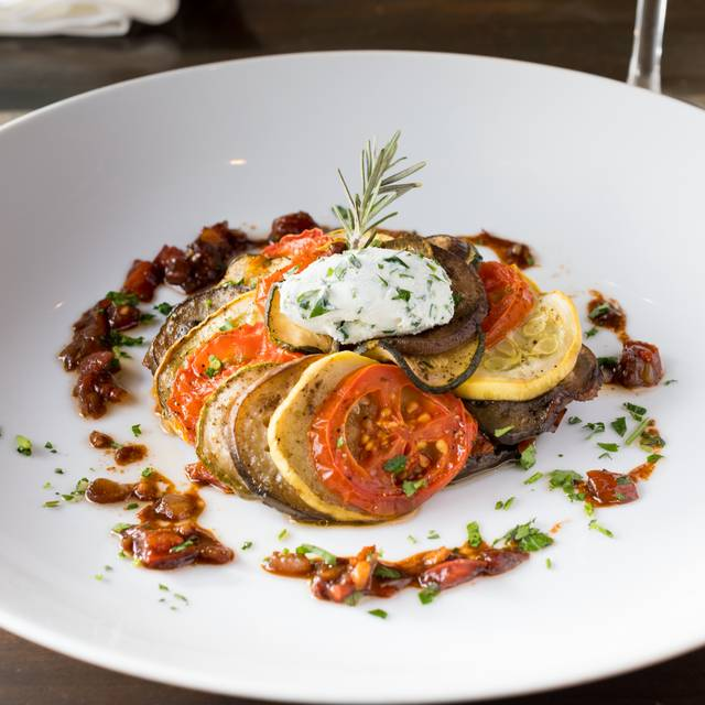 Ratatouille Confit Byaldi - Atticus, Denver, CO
