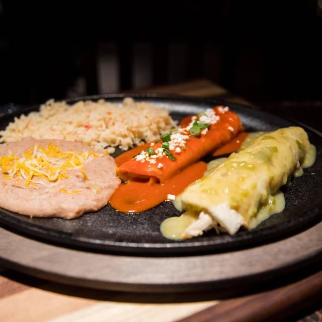 Green Chili Burrito And Cheese Enchilada - La Loma, Denver, CO