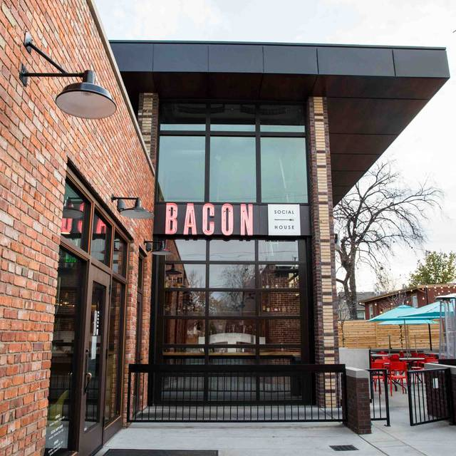 Sign - Bacon Social House, Denver, CO