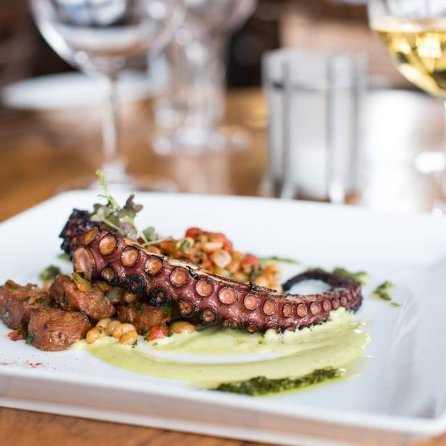 Grilled Spanish Octopus - Solera Restaurant & Wine Bar, Denver, CO