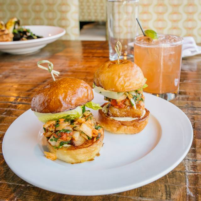 Kimchi Blt Sliders - Central Bistro and Bar, Denver, CO