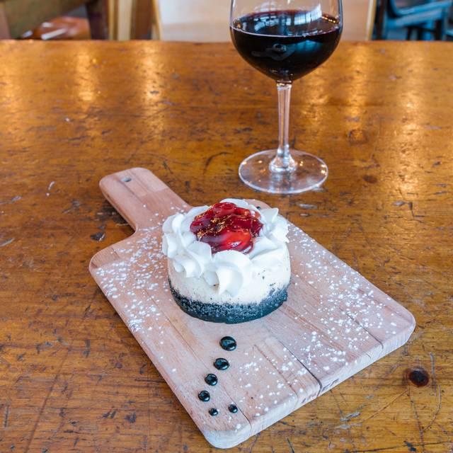 Cheesecake - /pôr/ wine house, Louisville, CO