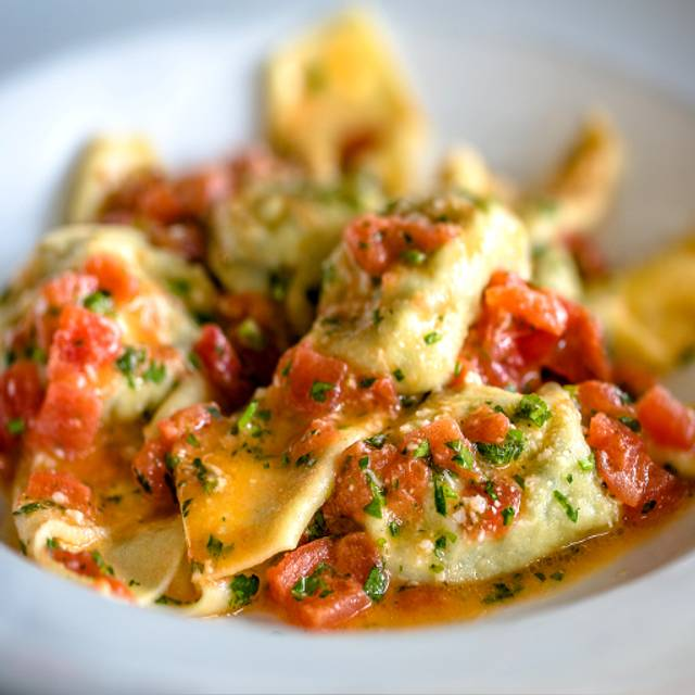 Tortelloni, Heirloom Tomato, Butter, Marjoram - il Giallo Osteria & Bar, Sandy Springs, GA