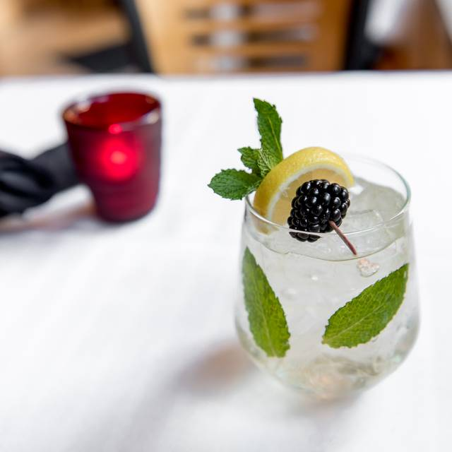Blackberry Cocktail - Mangiamo Pronto, Denver, CO