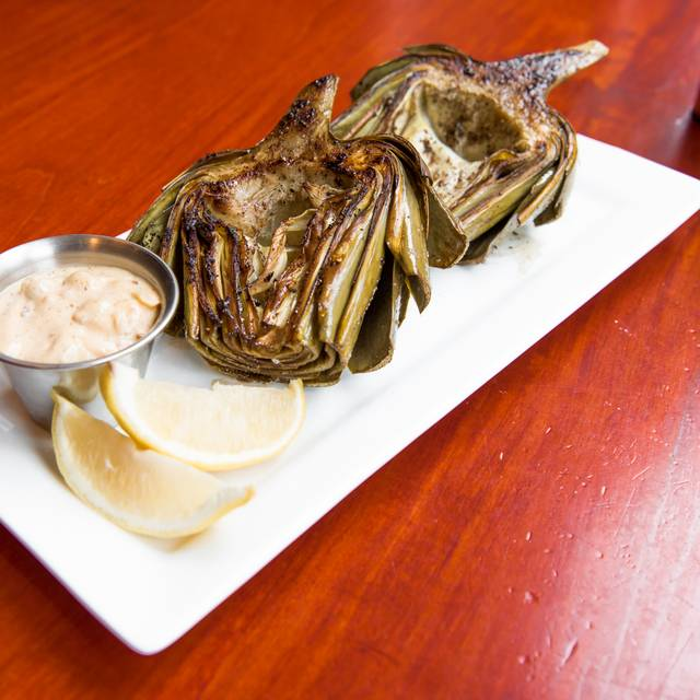 Grilled Artichoke - Rialto Cafe, Denver, CO