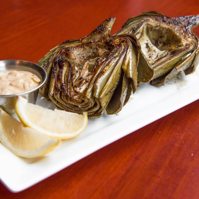 Grilled Artichoke - Rialto Cafe, Denver, CO