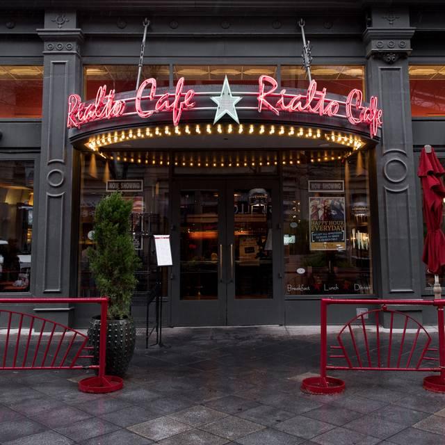 Entrance - Rialto Cafe, Denver, CO