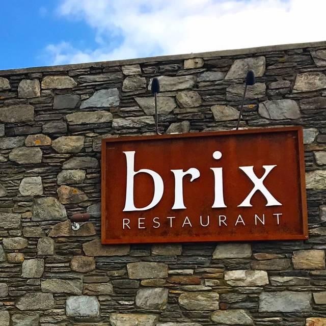 Brix Restaurant Menu Middletown Ri