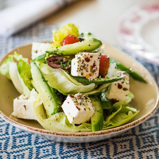 Greek Salad Cleo South Beach Miami Fl