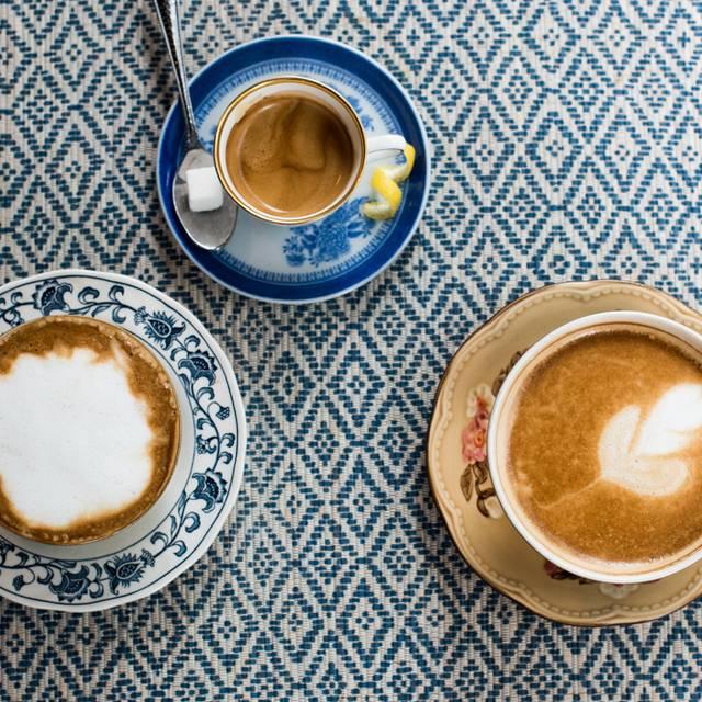 Assorted Coffee Drinks - Cleo South Beach, Miami Beach, FL