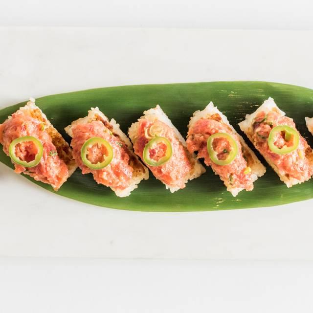 Crispy Rice With Spicy Tuna - Katsuya - L.A. Live, Los Angeles, CA