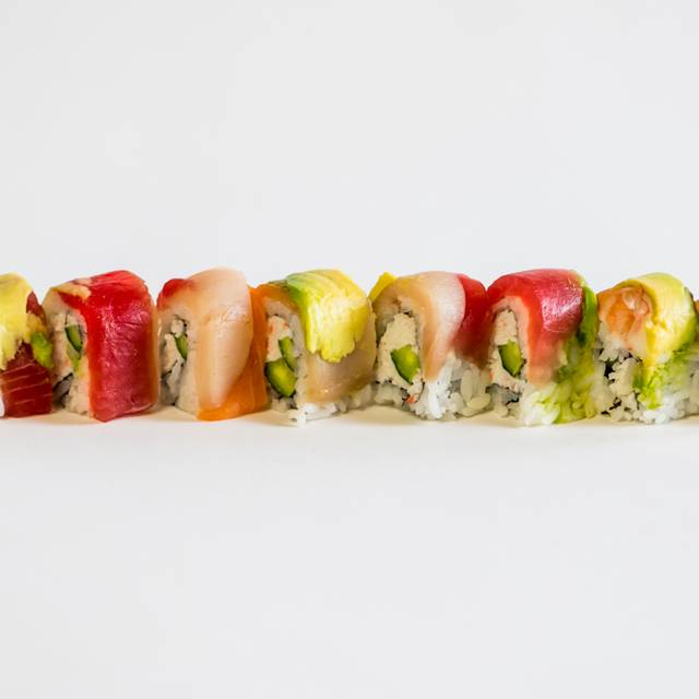 Rainbow Roll - Katsuya- South Beach, Miami Beach, FL