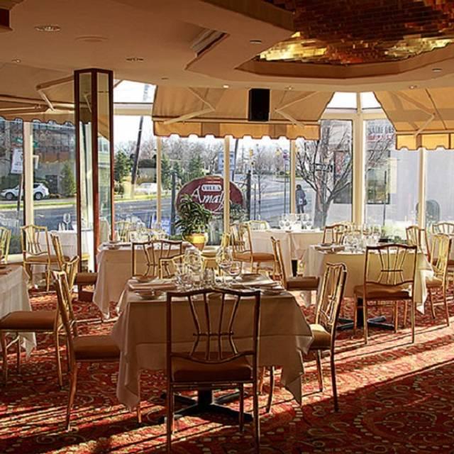 Villa Amalfi Restaurant Cliffside Park