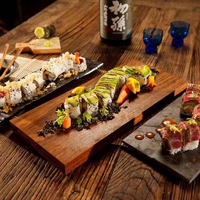 Three Rolls - Dragonfly - Robata Grill & Sushi, Orlando, FL