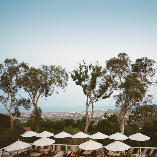 Belmond El Encanto Dining Room, Santa Barbara, CA