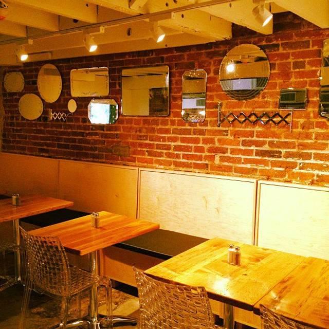 Cafe Sorriso Dc Menu