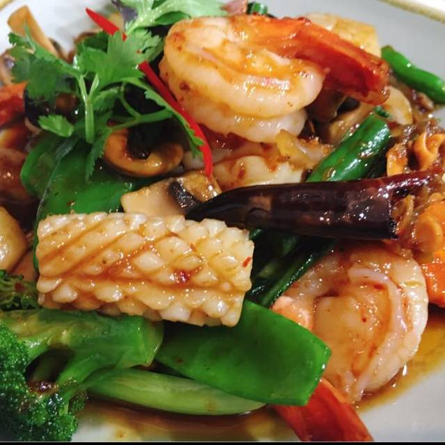 Chilli Jam Seafood - Nok Nok Thai Eating House, Sydney, AU-NSW