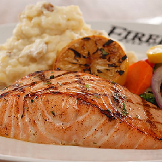Wood Grilled Salmon - Firebirds Wood Fired Grill - Phoenix, Peoria, AZ