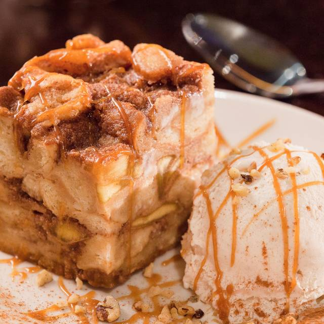 Apple Walnut Bread Pudding - The Grill at Calvary Chapel of Fort Lauderdale, Fort Lauderdale, FL