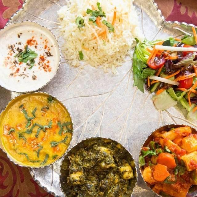 Vegetarian Thali - Royal Khyber, Santa Ana, CA