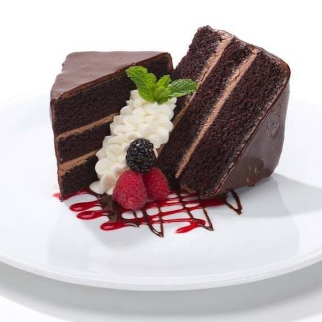 Triple Layer Chocolate Cake - Ditka's - Oak Brook, Oakbrook Terrace, IL