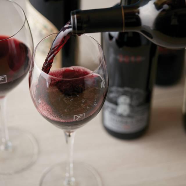Fleming's Red Wine Pour - Fleming's Steakhouse - Houston, Houston, TX